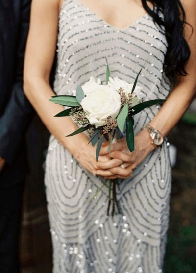 букет невесты белый фото