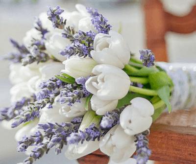 букет невесты в белом стиле