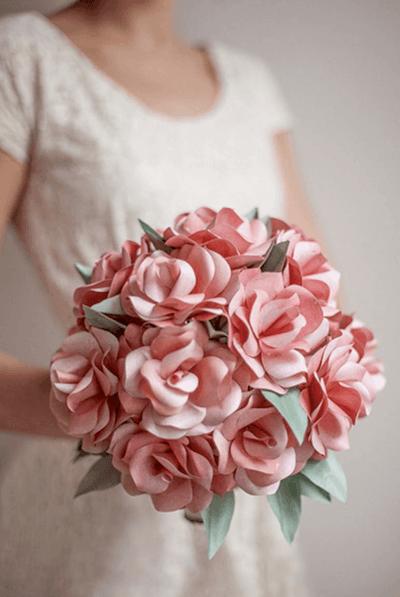 свадебный букет искусственный