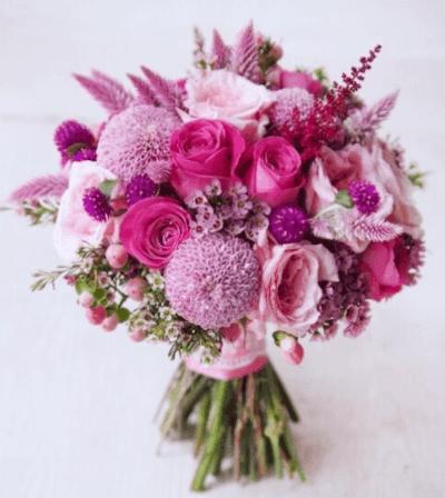 свадебные букеты из роз фото