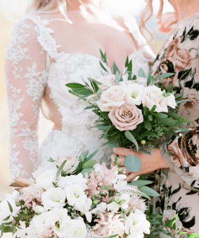 букет невесты айвори