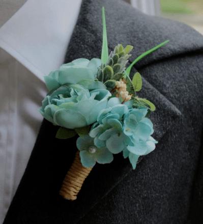 свадебные букеты и бутоньерки фото