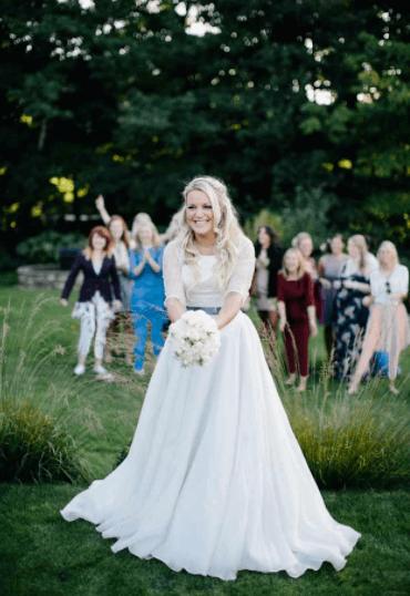 букет дублер для невесты своими руками