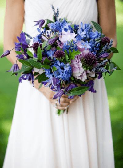 фиалка букет невесты