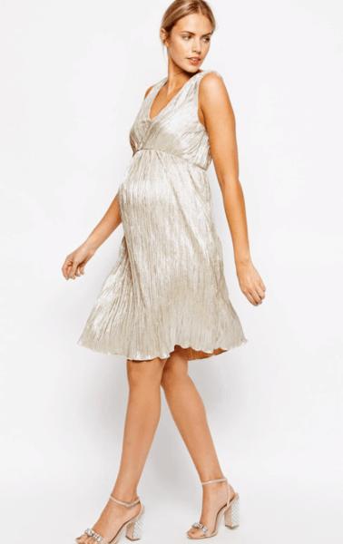 вечерние платья для беременных на свадьбу