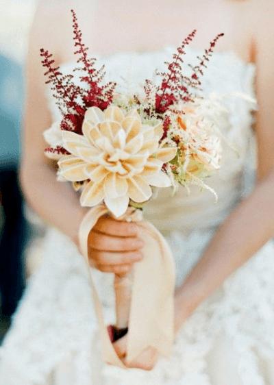 маленькие свадебные букеты для невесты фото