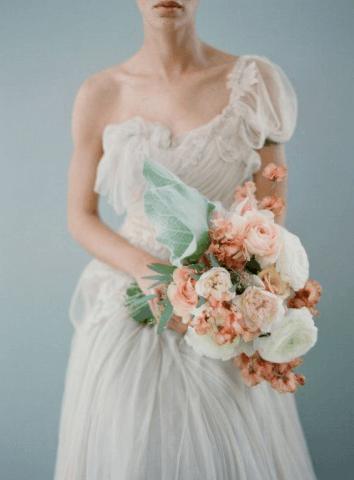 нежные букеты невесты фото