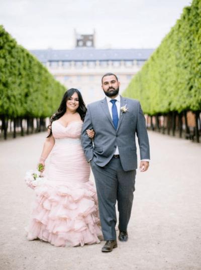полные девушки в свадебных платьях