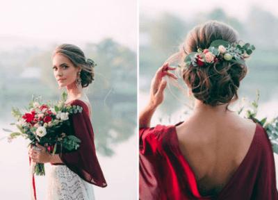 цветы в волосы на свадьбу купить