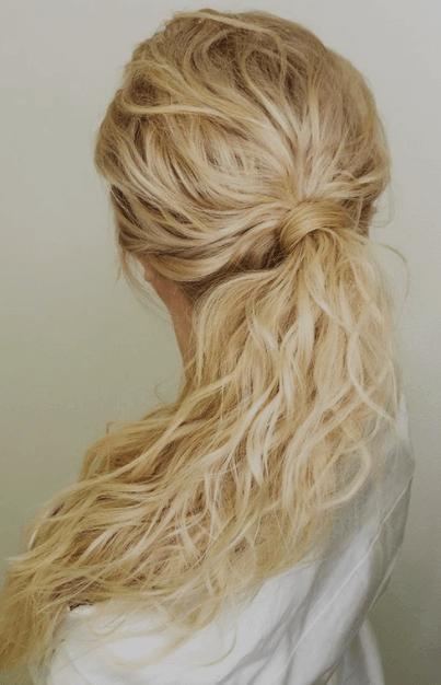 прически на свадьбу на длинные волосы