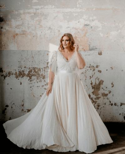 платья для полных невест