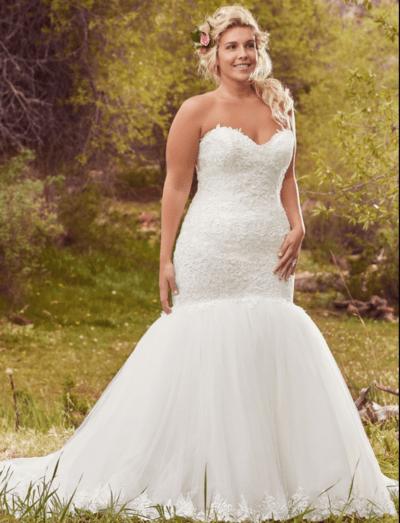 свадебное платье русалочка