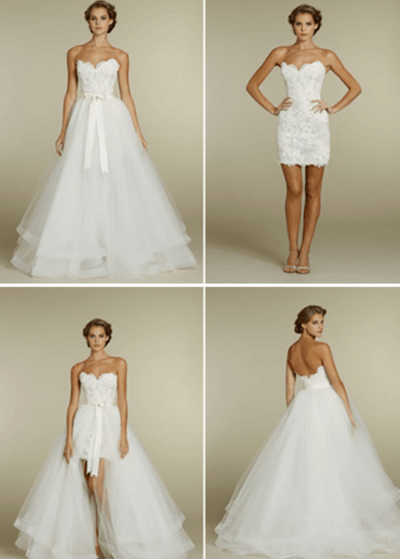 платье трансформер на свадьбу