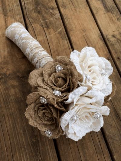 свадебный букет невесты дублер