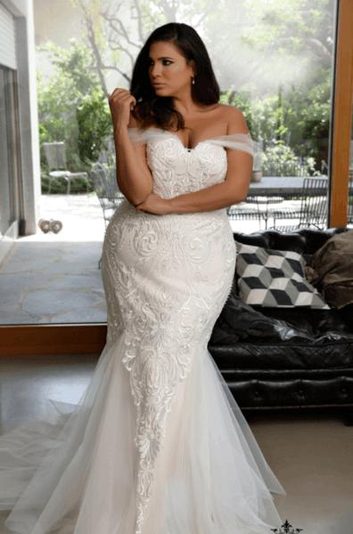 свадебные платья больших размеров фото