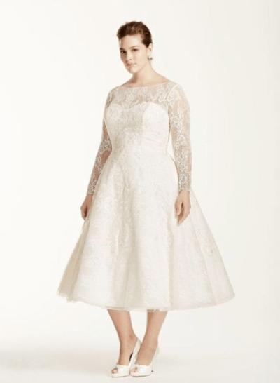 платье для серебряной свадьбы для полных