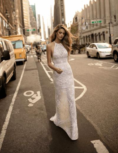свадебные платья прямые в пол фото