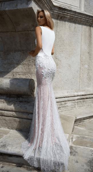 ебные платья с закрытыми плечами