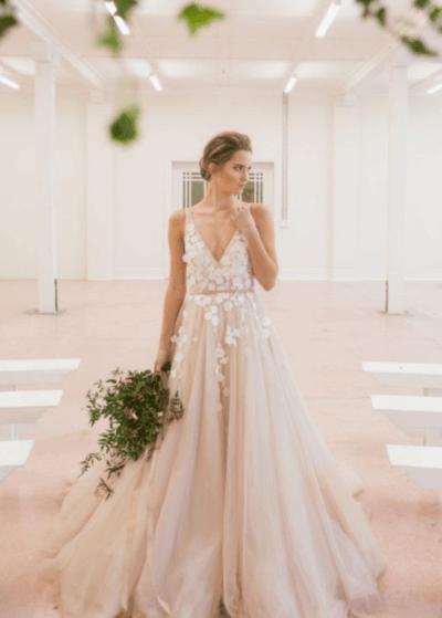 свадебные платья в стиле ампир фото