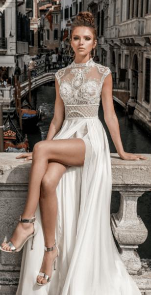 свадебные платья закрытые с рукавами