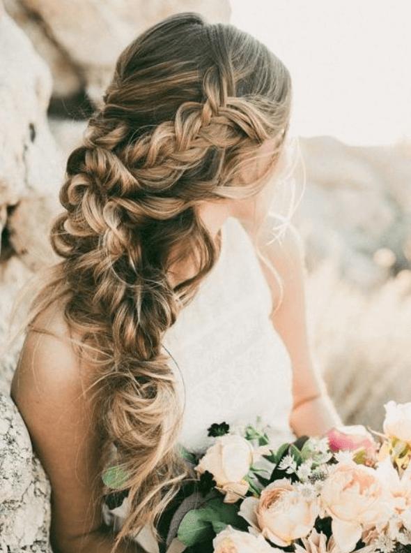 идеи свадебных причесок