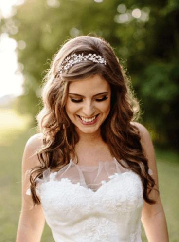 свадебные прически на длинные
