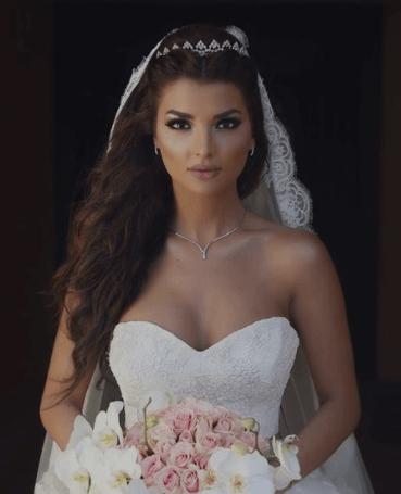 свадебные прически косы на длинные волосы