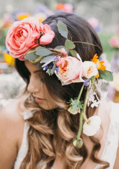 украшения для прически невесты
