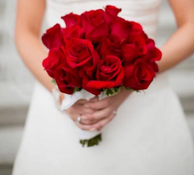 красивые свадебные букеты из роз