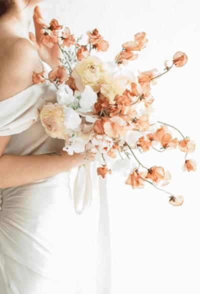 нежные свадебные букеты для невесты фото