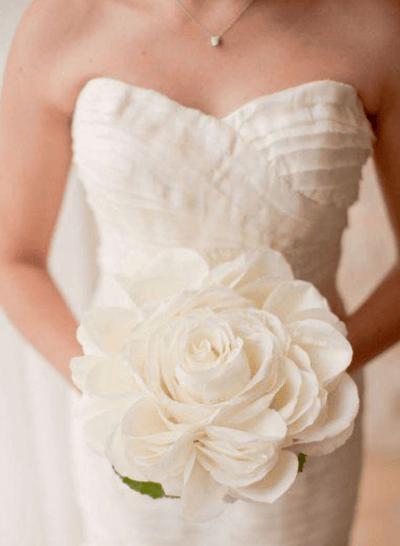 зимние букеты на свадьбу