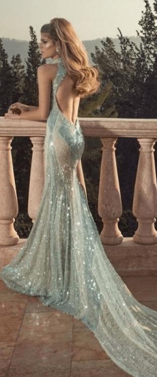 бирюзовые платья подружек невесты