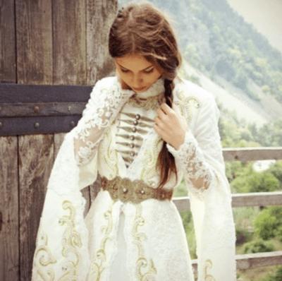 самые красивые чеченские свадебные платья