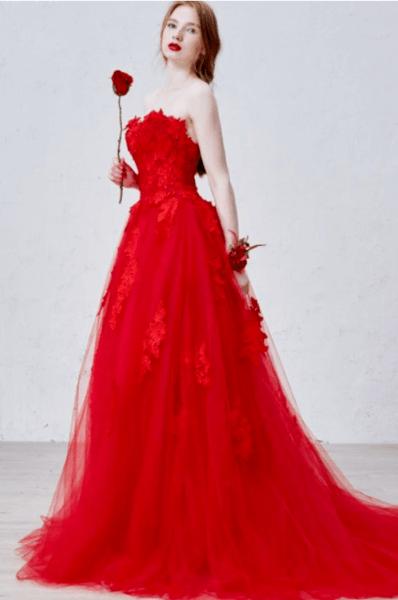 свадебное платье необычного цвета