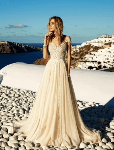каким цветом выбрать свадебное платье
