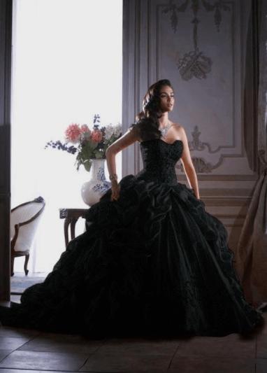 свадебные платья необычных цветов