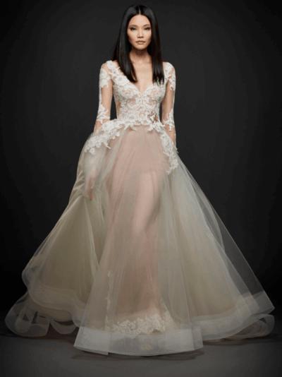 свадебные платья короткие кружевные