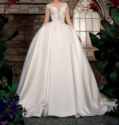 свадебные платья без колец