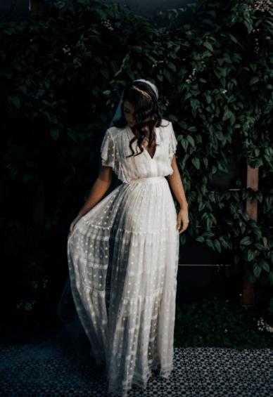 какое свадебное платье подойдет на маленький рост