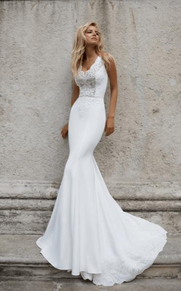 маленькое свадебное платье