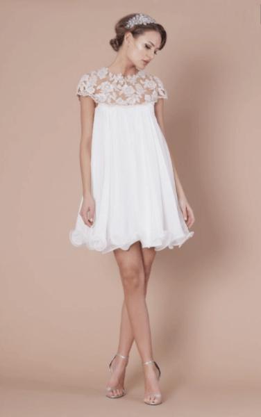 коктейльное платье для невесты