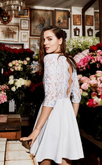 коктейльные платья для свадьбы для невесты