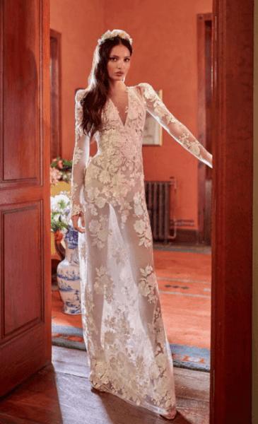 коктейльное свадебное платье для невесты