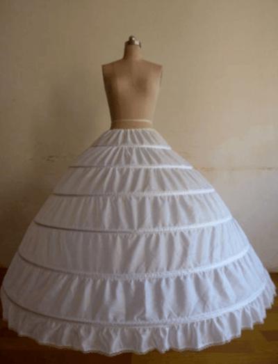 как называются кольца под свадебное платье