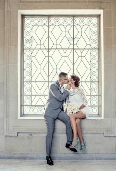 короткие вечерние платья на свадьбу