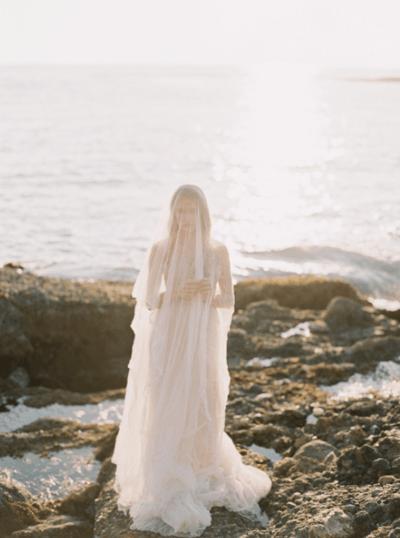 свадебное платье для моря