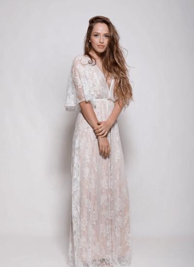 свадебные платья легкие струящиеся