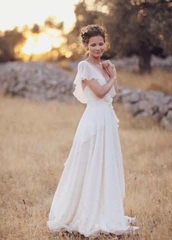 легкие свадебные платья фото
