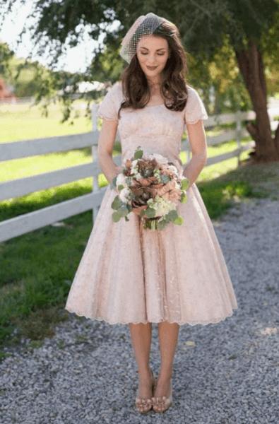 летнее свадебное платье фото
