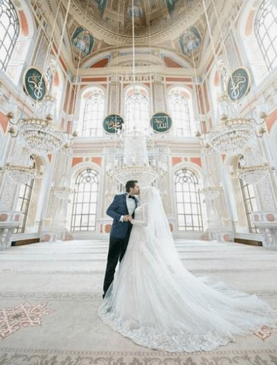 мусульманские свадебные наряды
